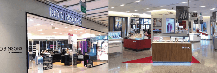 全台唯一獲邀進駐國際高檔百貨Robinsons JEM