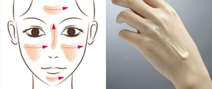 妝前隔離霜膚色的使用方法